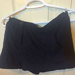 Navy Blue Dress shorts