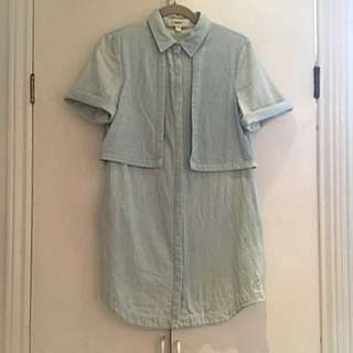 Cameo Denim Dress