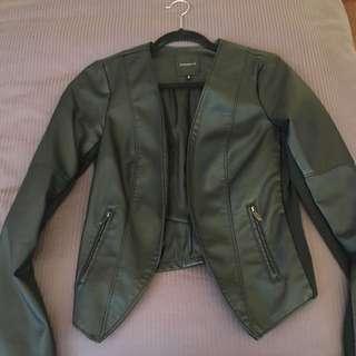 Dynamite Pleather Jacket