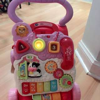 Vtech Sit And Stand Learning Walker