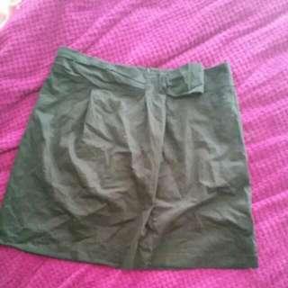 Dark black skirt Size 16