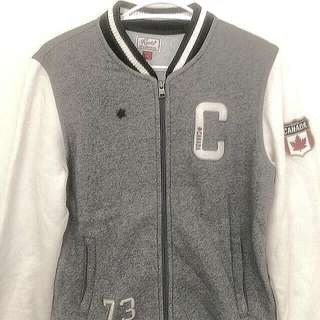 Roots Varsity Jacket Made in Canada