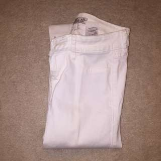 Hollister White Jeans