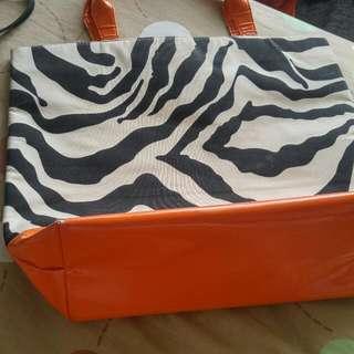 Tas Zebra Orange