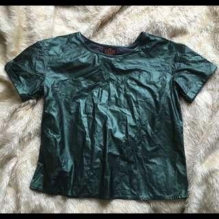Medium Sloane Society Metallic T-shirt