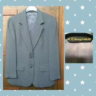 MM 017  -   A Thong Tailor Dark Grey Blazer