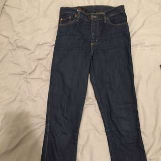 Nobody Dark Blue Denim Jeans