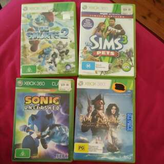 The Smurfs 2, The Sims 3 Pets, Sonic Unleashed, Port Royal 3.