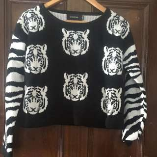 Mink Pink Tiger Jumper