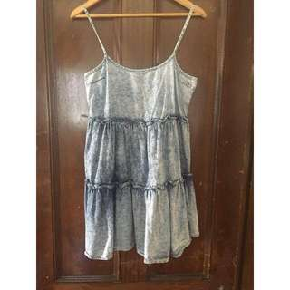 Denim Style Dress