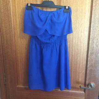 Casual Strapless Dress Size 10