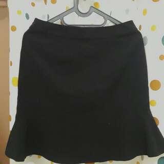 [Used] Mini Black Mermaid Skirt