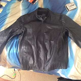 BISONTE men's Leather Jacket