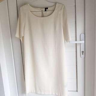 LZD Cream Shift Dress
