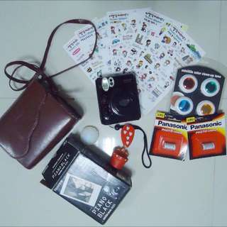 INSTAX MINI 50s PIANO BLACK