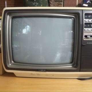 Antique Toshiba Cube Tv