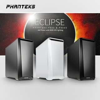 WHITE Phantek eclipse p400s