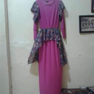 Gamis Muslim merk Bungas Fashion