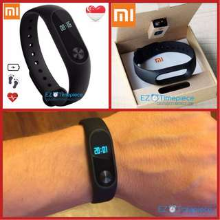 [3rd Batch] Genuine Xiaomi Mi Band 2 Smart Wristband Bracelet OLED Display w Heart Rate Fitness Tracker Water Resistant