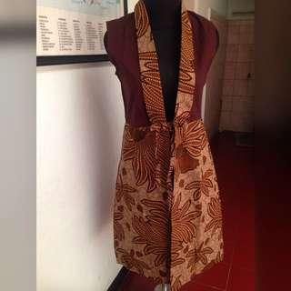 Long Cardi Batik