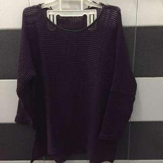 Atmosphere Burgundy Knitwear