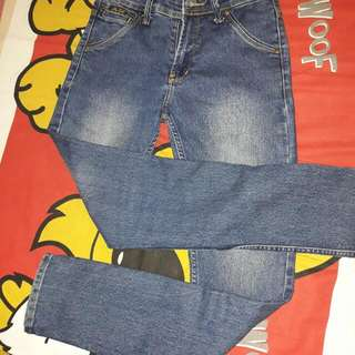[USED] Jeans cowok biru AbyBell