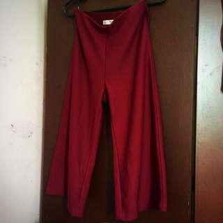 Dressing Paula Red Culottes