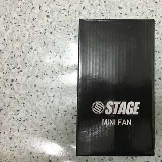 Stage Hyaline Of World Mini Fan