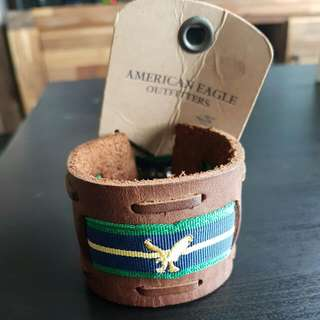 American Eagle Outfitters Leather Wrist Strap
