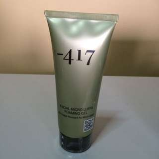 -417 Facial Micro Luffa Foaming Gel