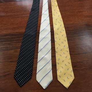 Assorted Dunhill Neck Ties [AUTHENTIC]