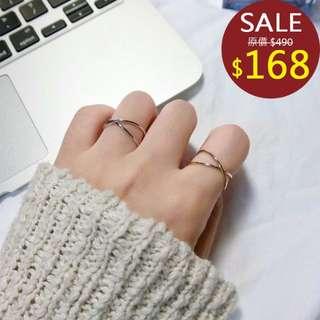 韓國極簡戒指/另有 耳環 耳夾 無耳洞 韓版 女 飾品