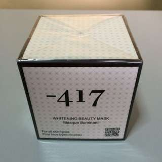 -417 Whitening Beauty Mask