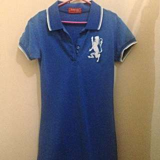 Giordano Polo Shirt Dress