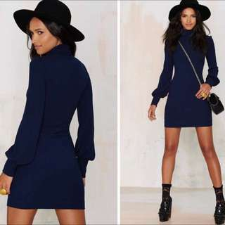 NASTYGAL Turtleneck dress