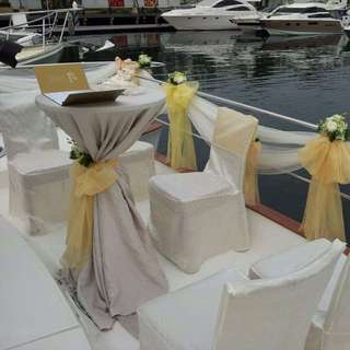 Yacht Rental For Wedding For 23 Pax
