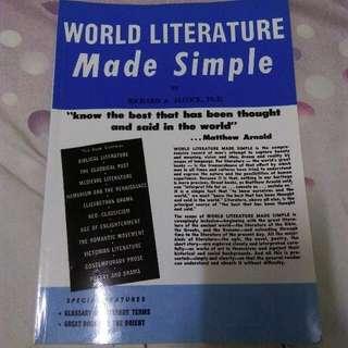 🚚 World Literature Make Simple