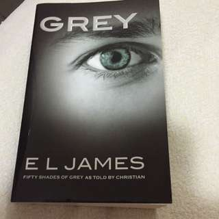 GREY (Fifty Shades Of Grey As Told By Christian) By EL JAMES