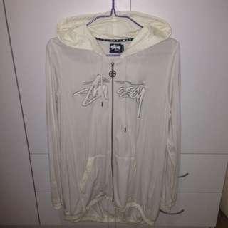 Stussy Size 14 Long Hoodie Jacket