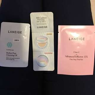 Laneige BB Cushion Sample
