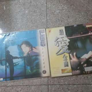 Laser Disc , LD, Cd, Vcd, Andy LAU,  Old Chinese Songs Karaoke