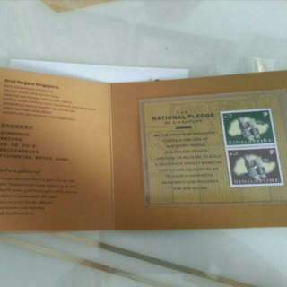 SG 50 Stamp Booklet