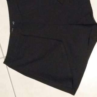 Black High Waisted Shorts Size 8 Nunui Surf Dive & Ski