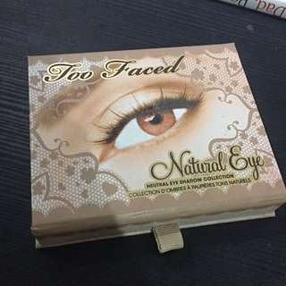 Original Too Faces Natural Eye