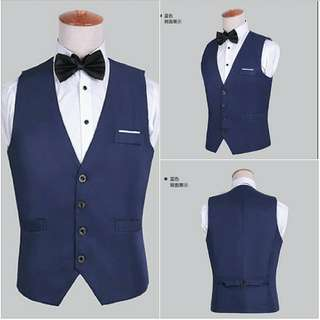 Men's Vest.   Perfect for formal occasion & wedding!