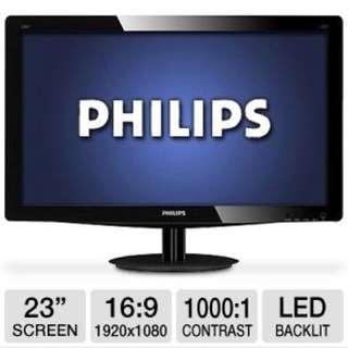 Philips LED 236V monitor 23 inch