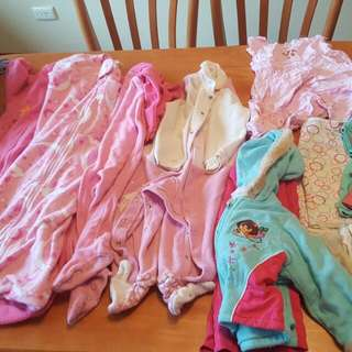 Size 1 Girls Clothes,growsuits,sleepsuits,body Suits,outfits,snowsuits