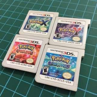 Complete Pokedex Games 3ds
