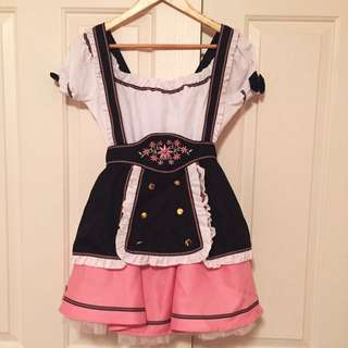 German Beer Maid Dress