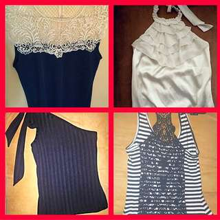 Brand New Or Near New Dressy Go With Everything Tops Selling cheap!